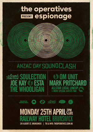 Espionage feat. Om Unit, Mark Pritchard, The Sound of Tomorrow