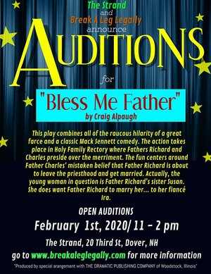 Theater Audition for Bless Me Father