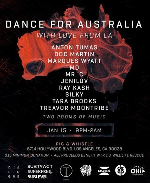Dance for Australia, With Love from LA photo