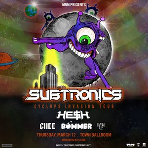 Subtronics 'Cyclops Invasion Tour' - Buffalo, NY - 03/12 photo