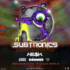 Subtronics 'Cyclops Invasion Tour' - Wichita, KS - 01/24 photo