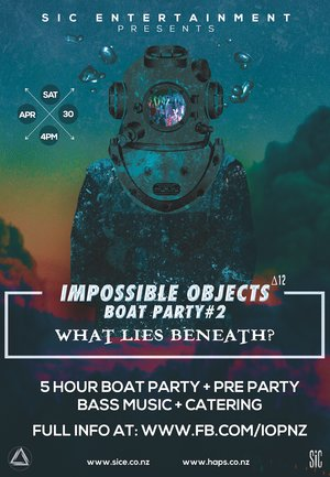 Impossible Objects Boat Party #2 - What lies beneath?