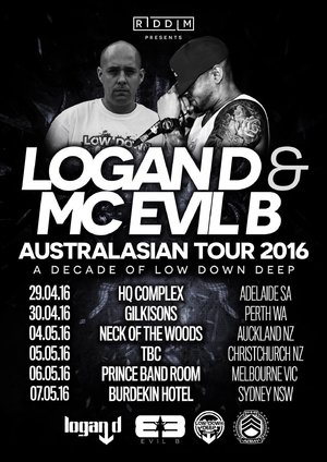 A Decade of Low Down Deep // Logan D & MC Evil B // Fiyah Muzik