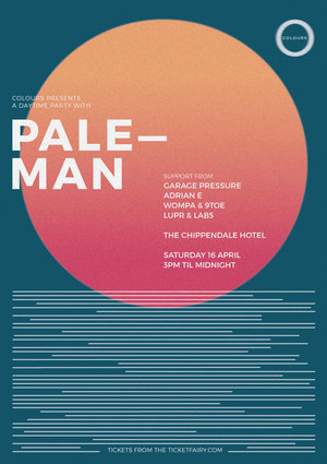 Colours presents a daytime party with Paleman (Swamp81/UK)