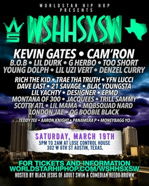 World Star Hip Hop Lose Control at SXSW 2016