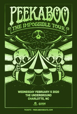 Peekaboo - 'The Impossible Tour' - Charlotte, NC - 02/05