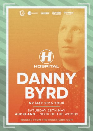 Danny Byrd (Hospital Records) Tour - Auckland