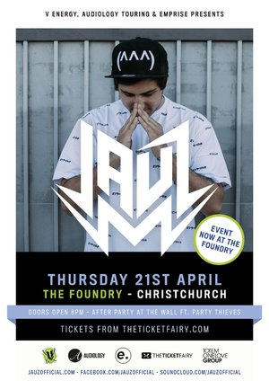 JAUZ (Mad Decent/USA) - Christchurch