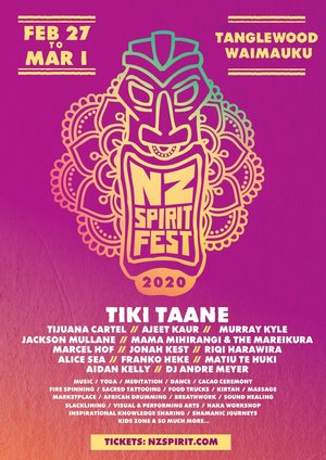 NZ Spirit Festival 2020 photo