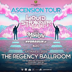 ASCENSION Tour with Liquid Stranger - San Francisco, CA - 03/07 photo