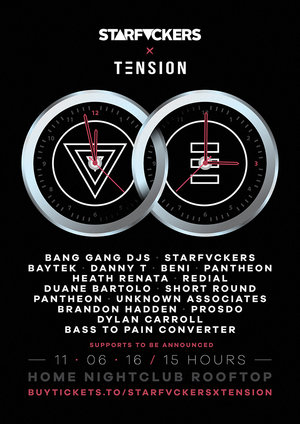 Starfvckers x TENSION