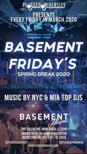 Basement Friday's (4/03)