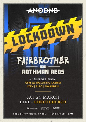 A Night of Drum & Bass Lockdown - CHCH