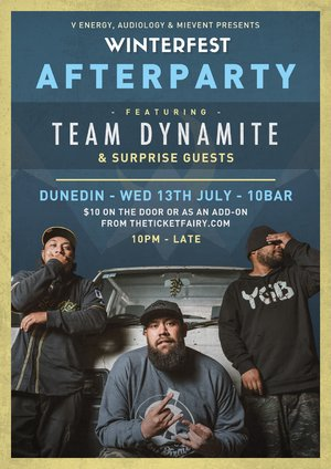 Winterfest Afterparty (Dunedin) ft. Team Dynamite & more