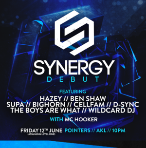 SYNERGY Presents: Our Drum & Bass Debut!