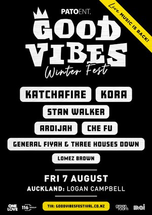 Good Vibes Winter Festival | Auckland