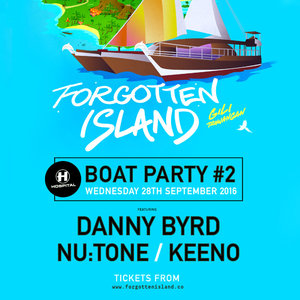 Forgotten Island 2016 - Hospitality Boat Party photo