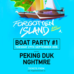 Forgotten Island 2016 - Peking Duk & NGHTMRE Boat Party photo