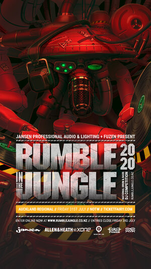 Rumble in the Jungle - AKL Heat