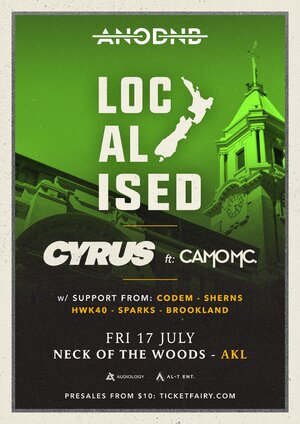 A Night of Drum & Bass Localised - Cyrus ft. Camo MC