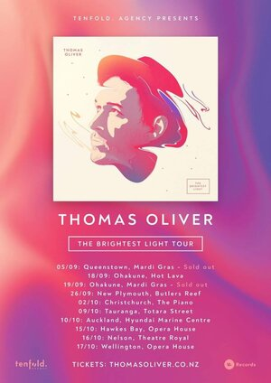 Thomas Oliver | New Plymouth - The Brightest Light Tour