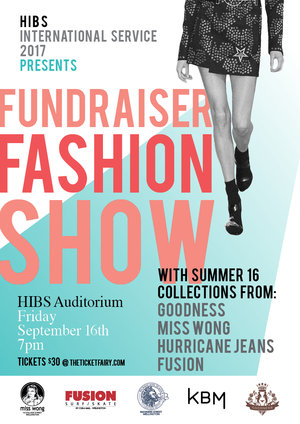 HIBS International Service Fundraiser Fashion Show