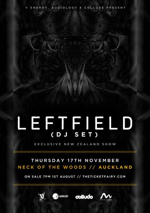 LEFTFIELD (UK) - Auckland
