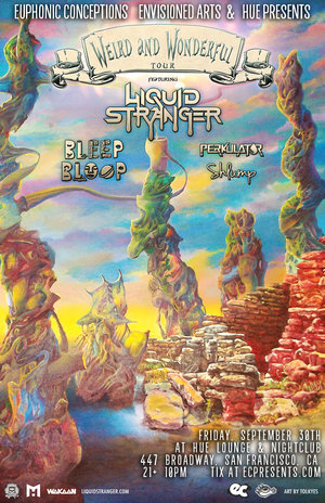 Liquid Stranger / Bleep Bloop