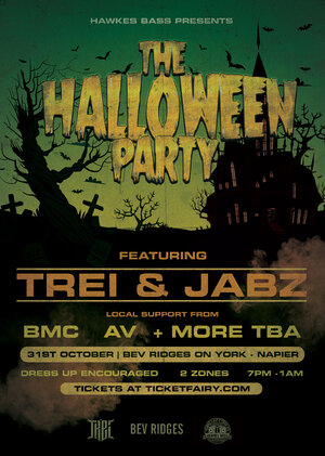 "The Halloween Party ft ""TREi & JABZ MC""  - Napier"