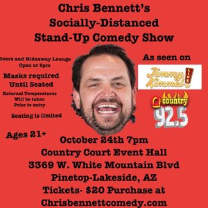 Chris Bennett's Socially Distanced Stand-Up Comedy Show