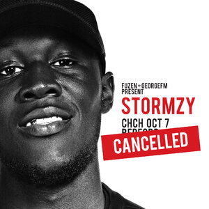 *CANCELLED* - Stormzy NZ Tour - Christchurch