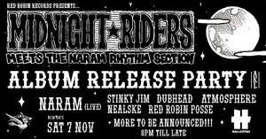 Midnight Riders meets Naram Rhythm Section Album Launch Party