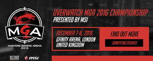 Overwatch MGA 2016 Championship presented by MSI photo