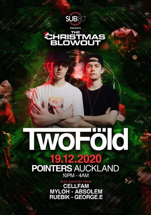 Sub180 Presents: The Christmas blowout W/TwoFold photo