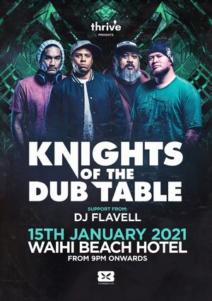Knights of the DUB Table | Waihi Beach
