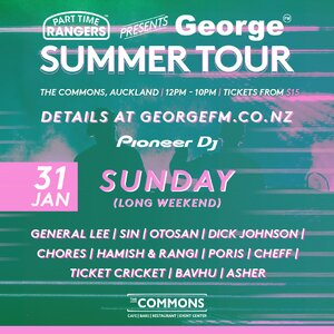 Part Time Rangers Presents George Summer Tour: AUCKLAND photo