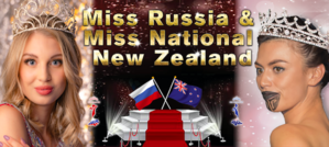 Miss Russia NZ and Miss National NZ 2021 photo