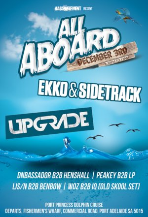 Bass Element present All Aboard! ft Upgrade and Ekko & Sidetrack photo