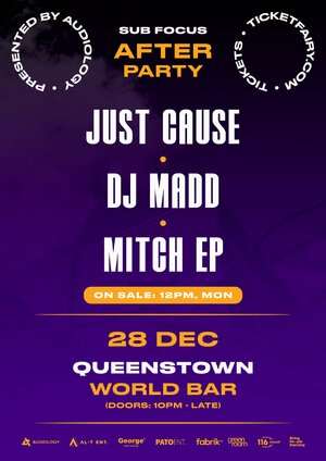 Sub Focus Afterparty - Queenstown