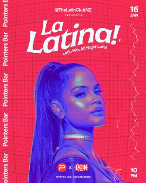 La Latina! by The Latin Club | 16 January at Pointers photo