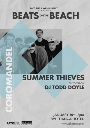 Beats on the Beach Feat. Summer Thieves | Whitianga