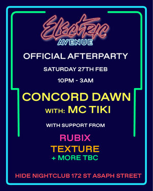Electric Avenue Music Festival Official Afterparty