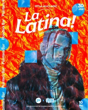 La Latina! by The Latin Club | 30 January at Pointers photo