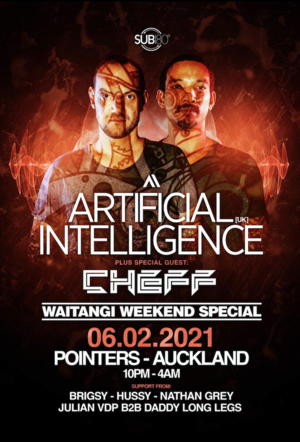 Artificial Intelligence (UK) + Special Guest CHEFF photo