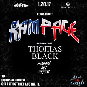 Rampage Texas Debut At Scratchouse!