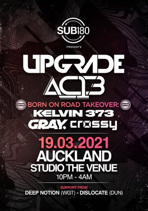 Upgrade, AC13, Born on Road - Auckland photo