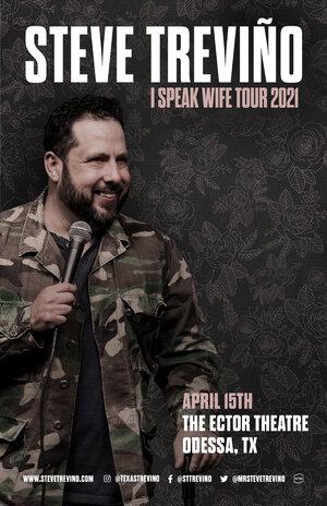 Steve Treviño – I Speak Wife Tour 2021 photo
