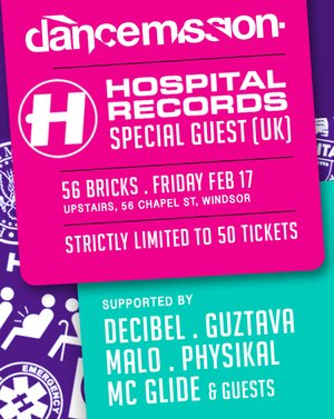 Dance Mission Presents HOSPITAL RECORDS Special Guest (UK)