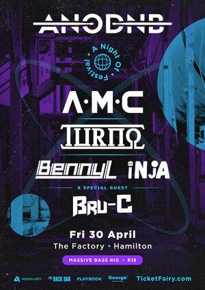 A Night of Drum & Bass Festival | Hamilton