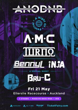 A Night of Drum & Bass Festival | Auckland photo